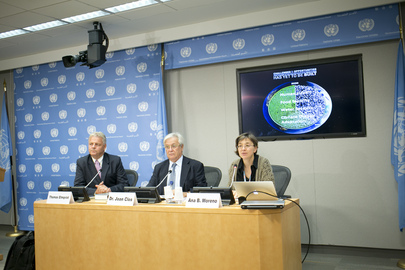 Press Conference on World Habitat Day