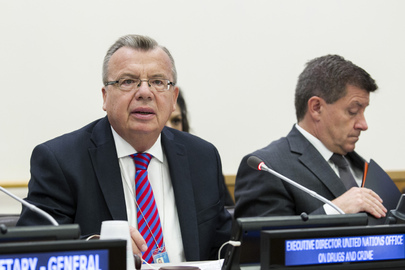 UNODC Director Moderates Global Migration Group Meeting