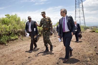 Security Council Delegation Visits Goma, DRC