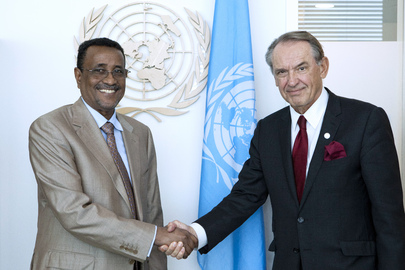 Deputy Secretary-General Meets Interior Minister of Sudan