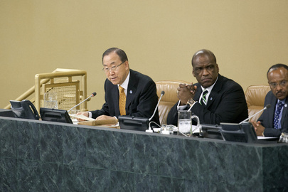 Sceretary-General Addresses High-level Dialogue on Financing for Development