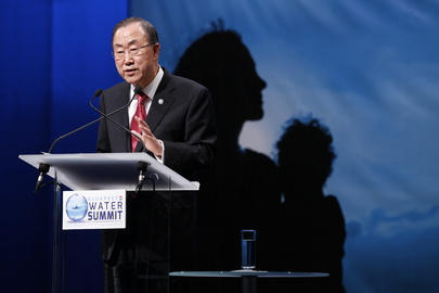 Secretary-General Addresses Budapest Water Summit