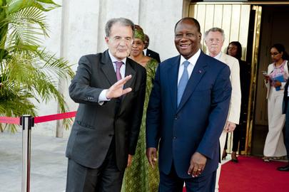 UN Special Envoy for Sahel Meets President of Côte d'Ivoire