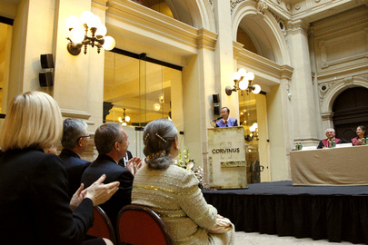 Secretary-General Receives Honorary Doctorate from Corvinus University of Budapest