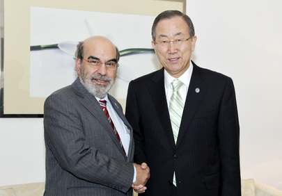 Secretary-General Meets FAO Director-General