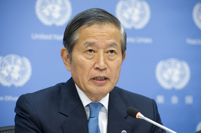 Press Conference by UN Head of Management