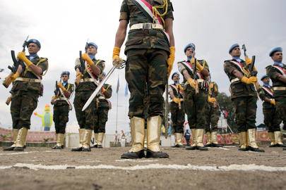 UN Medal Parade for Egyptian Troops of MONUSCO