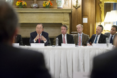 Secretary-General Attends Development Finance Club Meeting in Washington