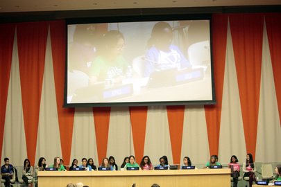 Girl Activists Speak Out on 2nd Annual Day of the Girl Child