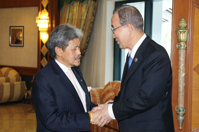 Secretary-General Meets Foreign Minister of Brunei