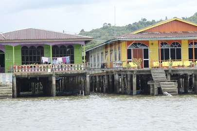 Kampong Ayer Water Village in Brunei Darussalam