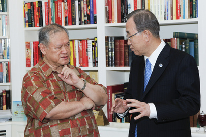 Secretary-General Meets Second Foreign Minister of Brunei