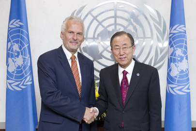 Secretary-General Meets Head of INTOSAI