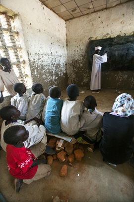 Primary School in West Darfur Camp in Need of Repair