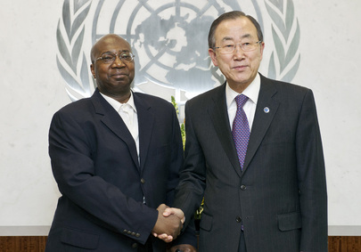 Secretary-General Meets Malian National Reconciliation Minister