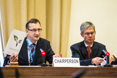 World Food Day Forum Held in Geneva