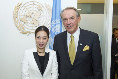 Deputy Secretary-General Meets Permanent Representative of Thailand to UN in Vienna