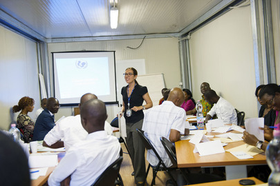 UNOCI Holds Training Session for NGOs
