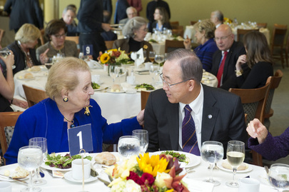 Secretary-General Attends Luncheon by Dag Hammarskjöld Fund for Journalists