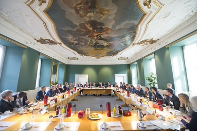 Secretary-General Attends International Pension Funds Meeting in Copenhagen