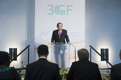 Secretary-General Addresses Green Growth Forum in Copenhagen
