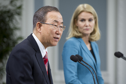 Secretary-General and Danish Prime Minister Brief Press