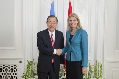 Secretary-General Meets Prime Minister of Denmark
