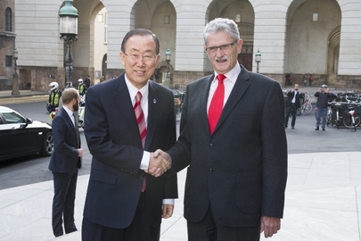 Secretary-General Meets Speaker of Danish Parliament