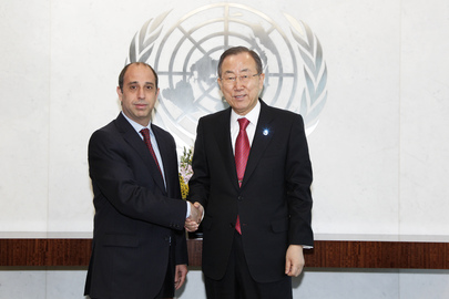 Secretary-General Meets Special Rapporteur on Human Rights in Myanmar