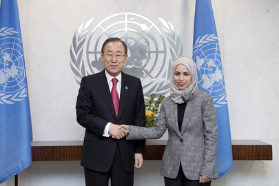 Secretary-General Meets New Permanent Representative of Qatar