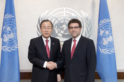 Secretary-General Meets Permanent Representative of Peru
