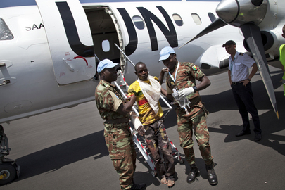 Victims of Suicide Attack on MINUSMA Arrive in Bamako from Tessalit