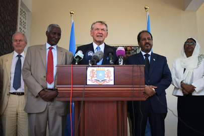Deputy Secretary-General on Official Visit in Somalia