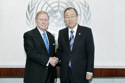 Secretary-General Meets Head of DPRK Commission of Inquiry