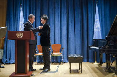 Secretary-General Designates Pianist Lang Lang as UN Messenger of Peace
