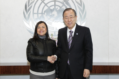 Secretary-General Meets Chair of Committee on Rights of Persons with Disabilities