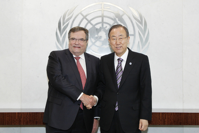 Secretary-General Meets Finnish Under-Secretary and Facilitator of Mideast WMD-Free Zone