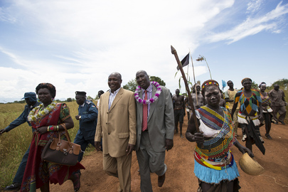 Hand-Over of DDR Projects in South Sudan