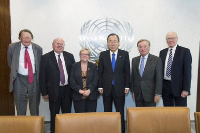 Secretary-General Meets U.K. Foreign Affairs Committee