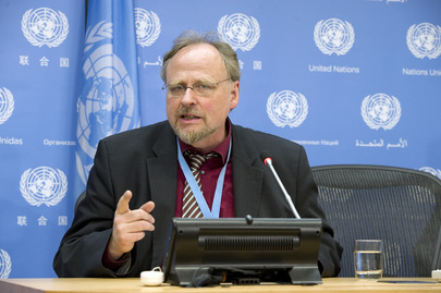 Special Rapporteur on Freedom of Religion Briefs Media