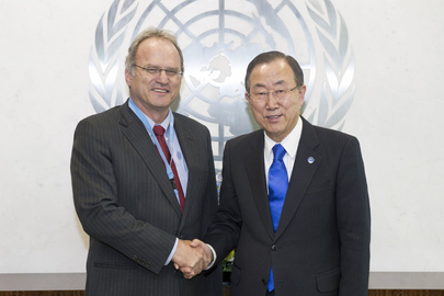 Secretary-General Meets Special Rapporteur on Arbitrary Executions