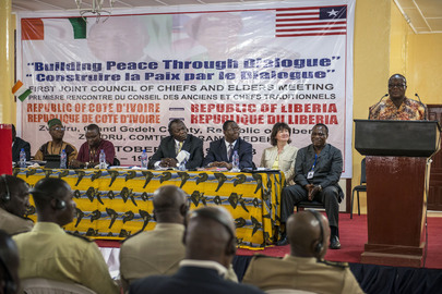 Three-Day Meeting of Chiefs and Elders from Côte d'Ivoire and Liberia