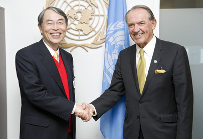 Deputy Secretary-General Meets President of International Criminal Court