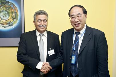 Under-Secretary-General Meets Israeli Environment Minister