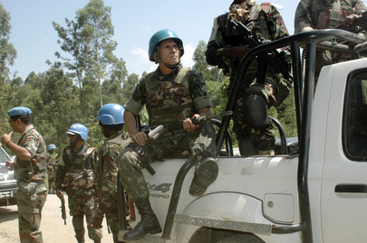 MONUSCO Patrol in Rutshuru