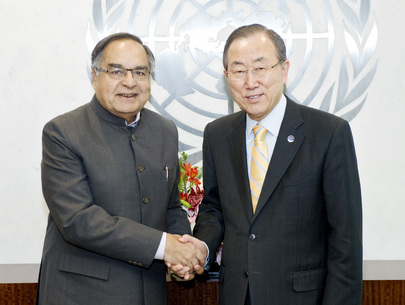 Secretary-General Meets Member of Parliament of India