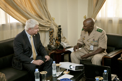 Under-Secretary-General Meets Head of Mali Peacekeeping School