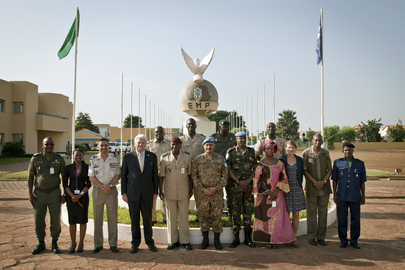 UN Chief of Peacekeeping Visits Mali