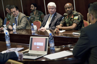 UN Peacekeeping Chief Meets Mine Action Staff in Mali