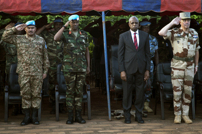 Ceremony for Fallen MINUSMA Peacekeepers